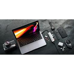 Adaptador USB-C Slim com Adaptador Ethernet