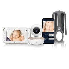"Babá Eletrônica MBP-855 Connect 5"" Video, Wi-fi, Visão Noturna - Motorola"