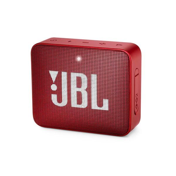 Caixa de Som Bluetooth JBL GO 2, 3W - Vermelho