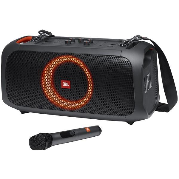 Caixa de Som JBL Partybox On-The-Go com Bluetooth, Microfone sem Fio - 100W