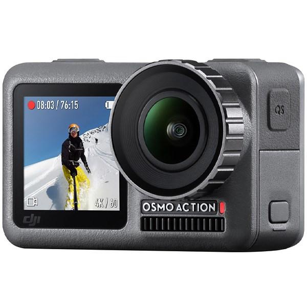 Câmera DJI Osmo Action, 12MP 4K - Preta