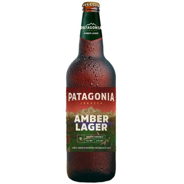 Cerveja Amber Lager, Patagonia Maltas Caramelo - Garrafa 740ml