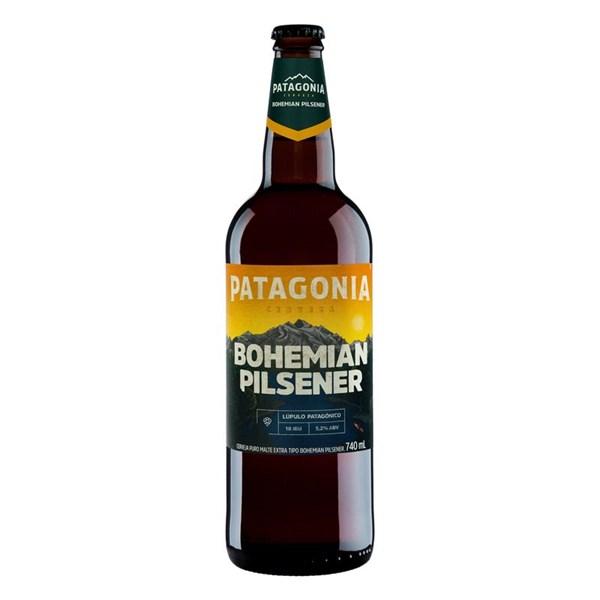 Cerveja Bohemian Pilsener, Puro Malte Patagonia - Garrafa 740ml