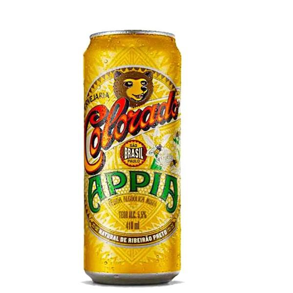Cerveja Colorado Appia Trigo Com Mel, 410ml Lata - 6 unidades