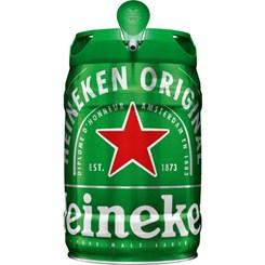 Cerveja Heineken, Barril 5L
