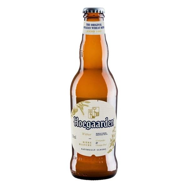 Cerveja Witbier Hoegaarden, Laranja e Coentro - 330ml