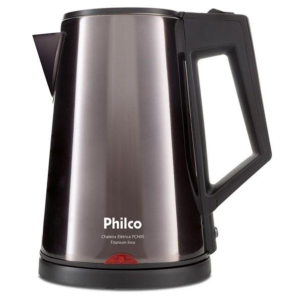 Chaleira Elétrica Philco, PCH05 1,8L, Titanium Inox