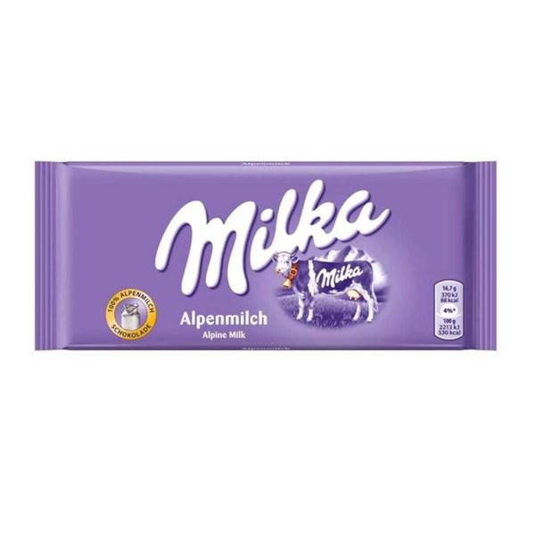 Chocolate ao Leite, Milka  Alpenmilch - 270g