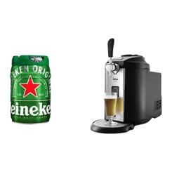 Chopeira Philco Barril, 5 Litros - 127v + Barril Heineken Chopp Barril 5 Litros
