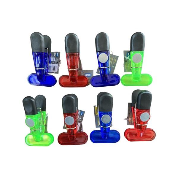 Clipe Magnético Mor, 8 peças - Mor