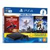 Console PlayStation 4 1TB Slim Mega Pack Bundle, 3 jogos
