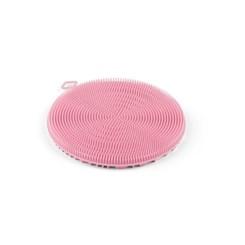 Esponja de Silicone Antibacteriana Multifuncional - Plasvale Rosa
