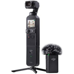 Estabilizador DJI Osmo Pocket 2, Com 3 Eixos Ultra HD 4K - Preto