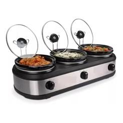Forno Elétrico Triplo Buffet Slow Cooker 127V