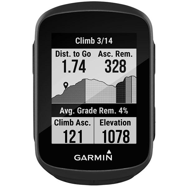 """Garmin Edge 130 Plus, Tela de 1.8"""" Bluetooth - Preto"""