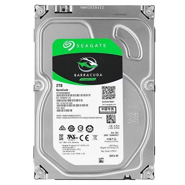 """HD Interno Seagate 2TB 3.5"""", BarraCuda ST2000DM008"""