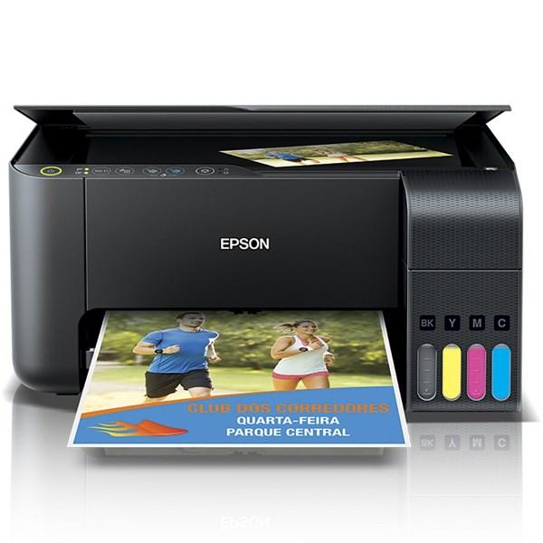 Impressora Multifuncional EcoTank L3150, Colorida, Wi-fi, Conexão USB, Bivolt - Epson