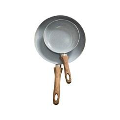 Jogo de Frigideiras 2 Peças 20cm + 28 cm  Alumínio Prensado