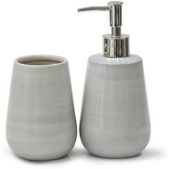 Kit Banheiro 2 Peças Luxo - Cerâmica
