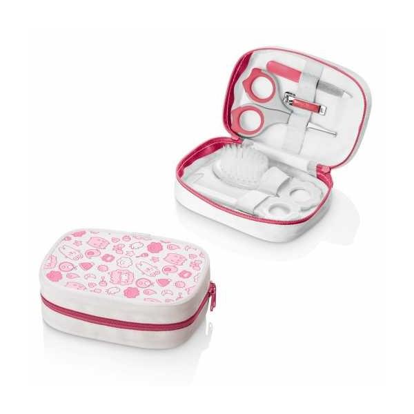 Kit Higiene Multilaser Rosa - Multikids Baby