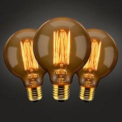 Lâmpada de Filamento de Tungstênio 60w - LLum