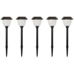 Luminárias De Led Solar para Jardim, 5 peças - Member's Mark