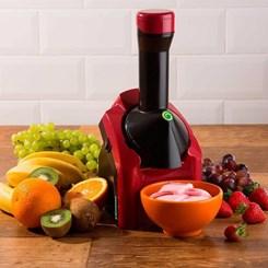 Máquina de Sorvete Yonanas Classic, Base de Frutas Congeladas, 127V - Red
