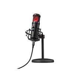 Microfone Streamer Gaming GXT 256 Exxos, RGB, USB - Trust
