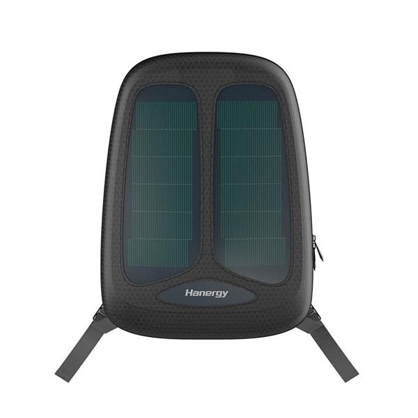 Mochila com Carregamento Solar, USB, PowerBank - Hanergy