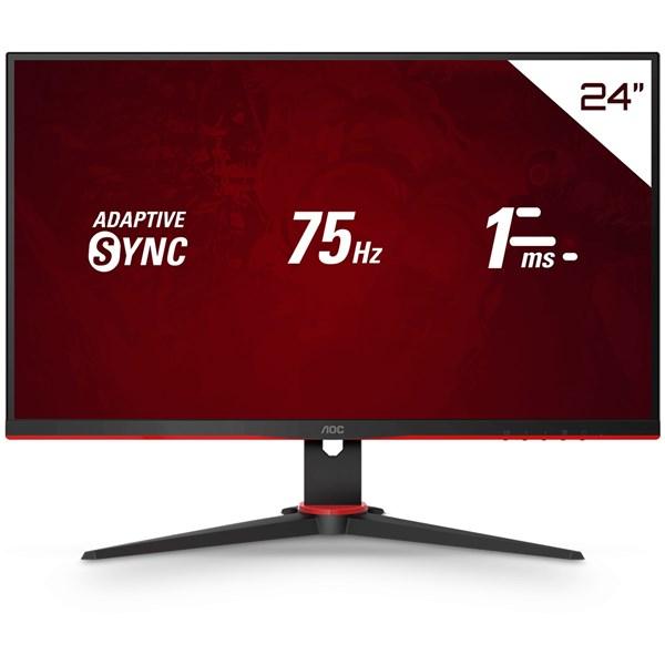 Monitor Gamer AOC Speed 23,8'' Antireflexivo Borda Ultrafinas, HDMI 1.4, 1 ms