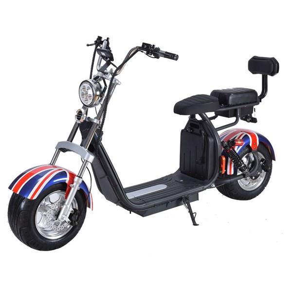 Moto Scooter Elétrico, 2000W, Modelo HR5