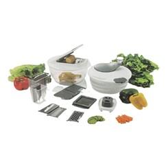 Processador De Vegetais Manual, 11 Peças Multifuncional