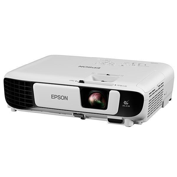 Projetor Epson PowerLite S41+, 3.300 Lúmens HDMI / VGA Bivolt