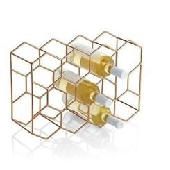 Rack para Vinho, porta 11 garrafas - Rose