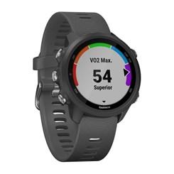 Relógio Garmin Forerunner 245, Monitor Cardíaco e GPS - Cinza