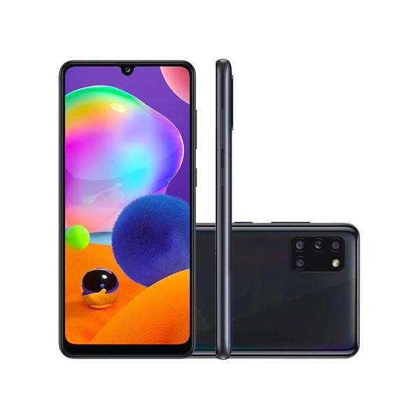 Samsung Galaxy A31, 4G, Tela 6.4 Pol., Câmera Quadrupla 48MP, Selfie 20MP