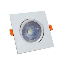 Spot de Embutir Quadrado Easy LED com driver 5W 6500K Bronzearte