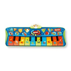 Tapete Musical Infantil, Junior Piano Mat Step to Play Winfun