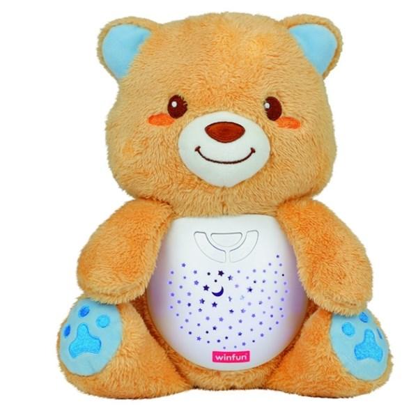 Urso de Pelúcia com Luz Noturna, Música de Ninar