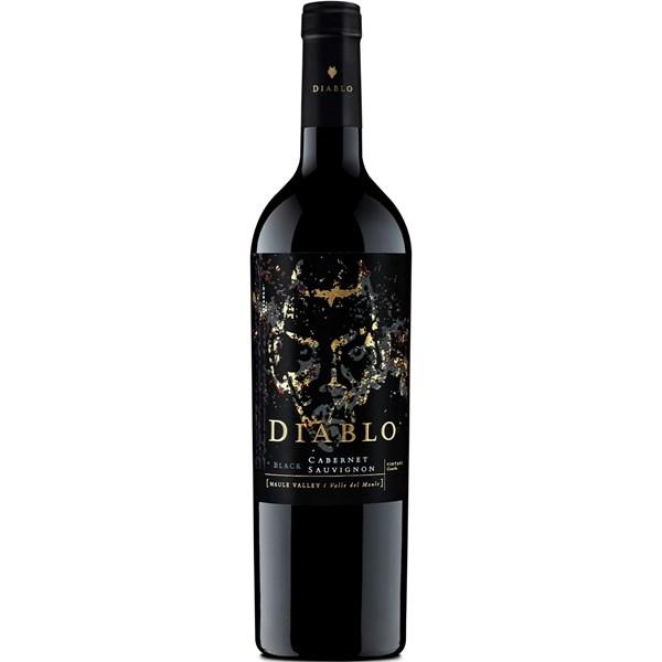 Vinho Tinto Diablo Black Cabernet Sauvignon 2019 -750ml