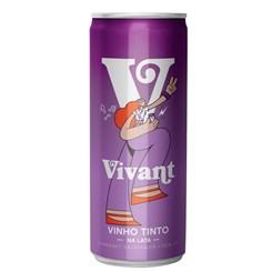 Vinho Tinto, Vivant 6 unidades - 269ml