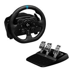 Volante Logitech G923, PS5, PS4, PC com Force Feedback