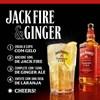 Whisky Jack Daniels Fire, Com Copo Personalizado - Garrafa 1L